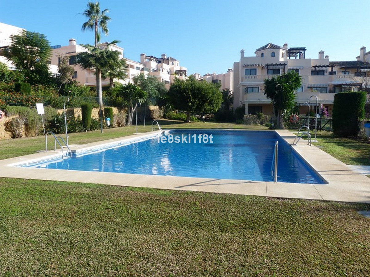 Beautiful West facing Ground floor Apt in this popular Elviria Development. El Manential, with tropi, Spain