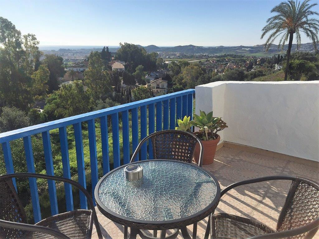 Top apartment in Campo Mijas with stunning sea views.  Nice little top floor apartment with stunning,Spain