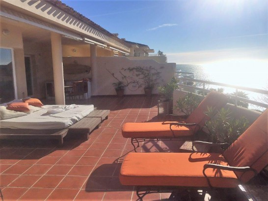 Penthouse with stunning sea views and large terraces.  Penthouse with stunning sea views and large t,Spain