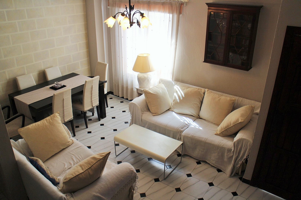 Traditional Andalusian town house for sale in Estepona centro, situated on a quiet street  and is wi,Spain