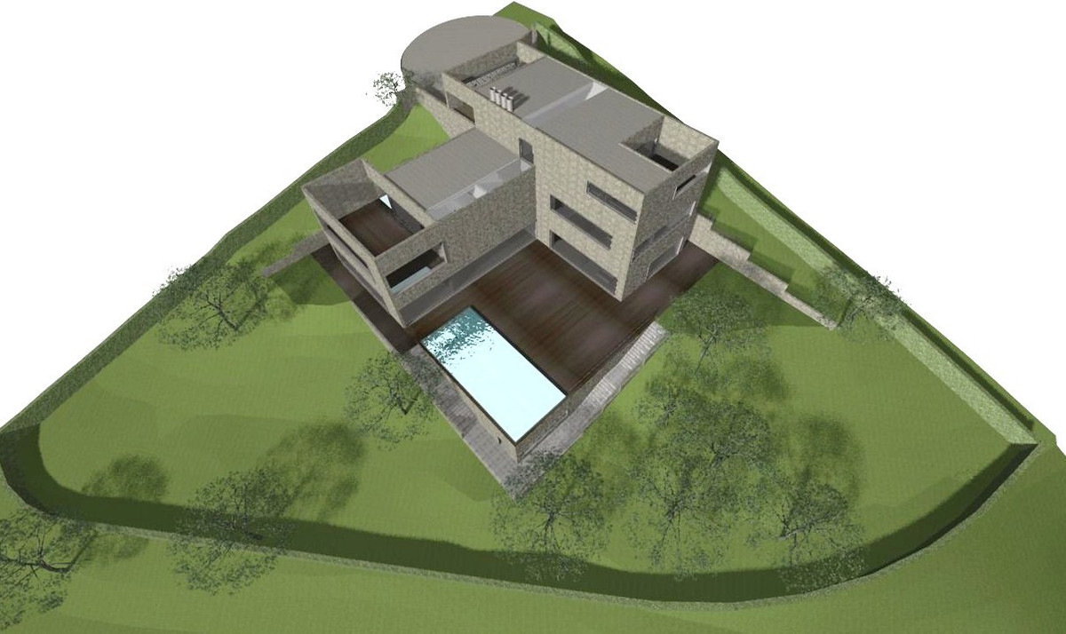 This is one of the few plots left in this urbanisation. It has a project and license, it is situated,Spain