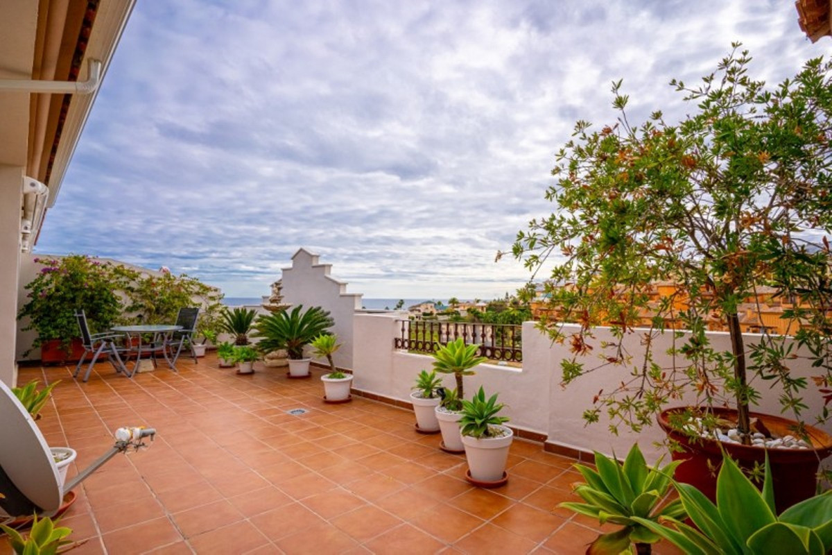 REDUCED FOR QUICK SALE!!!!!  PENTHOUSE with panoramic sea views, just a short walk into the lovely s, Spain