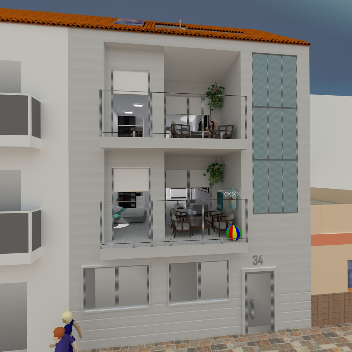 NEW PROMOTION  APARTMENTS with luxury qualities, in Calle Juan Breva 34  Located in the center of Lo,Spain