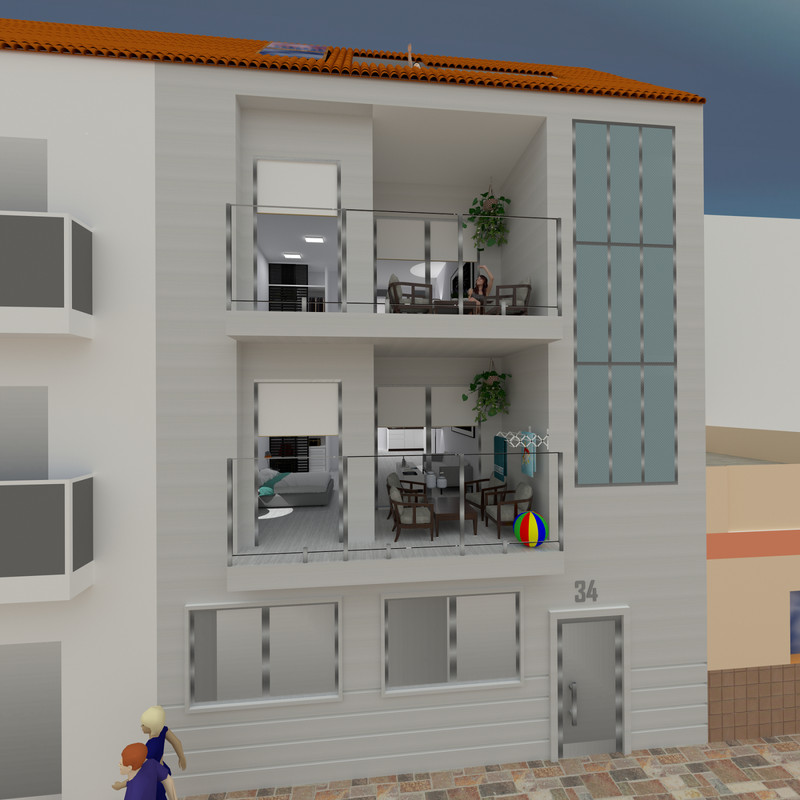Middle Floor Apartment in Fuengirola for sale