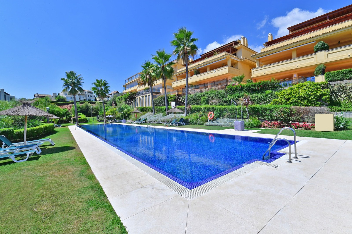 Three bedroom Ground floor apartment in Condado de Sierra Blanca for sale. This development is locat, Spain
