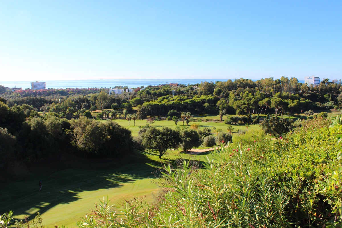 Santa Clara Golf Resort (Marbella East). Immaculately presented semi-detached villa with private poo, Spain