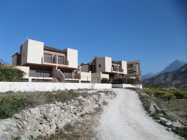 Detached villa in Orxeta Costa Blanca