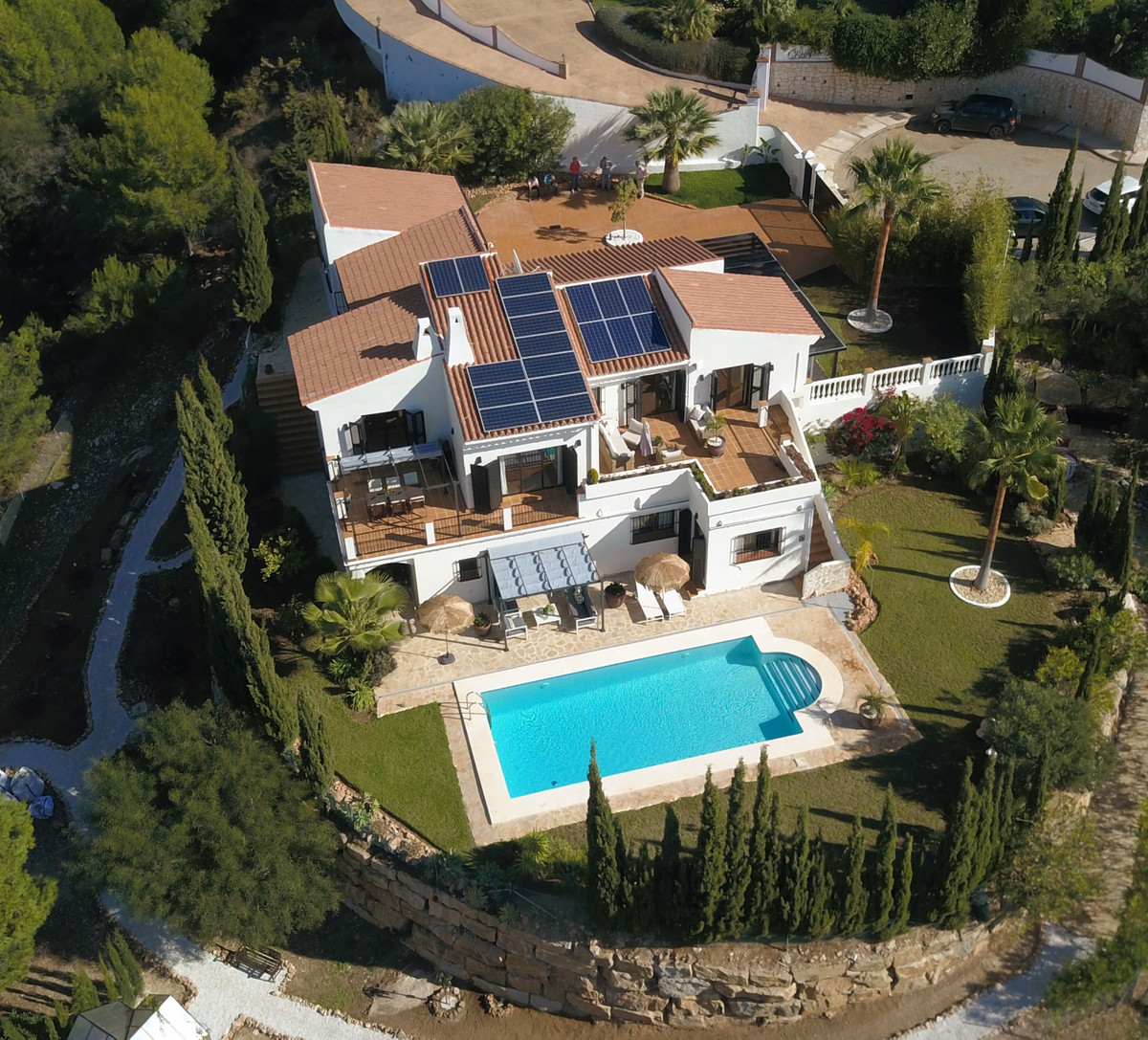 Amazing large villa in the sought-after luxury urbanisation Valtocado for sale.  This villa has it a,Spain