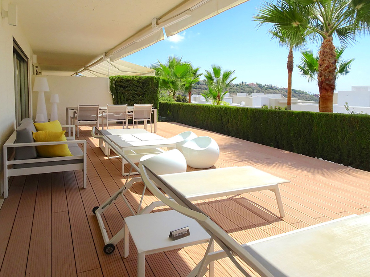 LA AZALIA – RESERVA DE ALCUZCUZ – SEA VIEWS Exceptional 3 bedrooms ground floor apartment. Completel, Spain