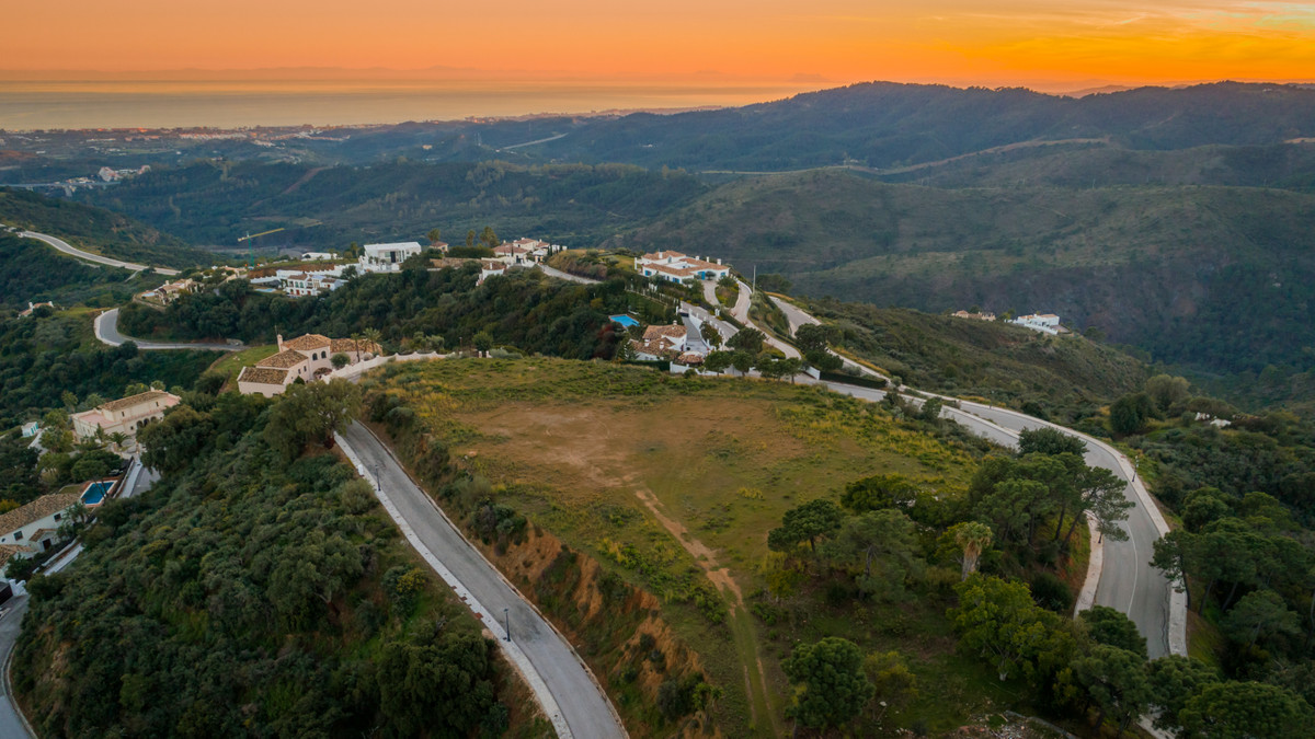 Stunning plot for sale within the Golden Triangle of Marbella, Estepona and Benahavis, in the secure, Spain