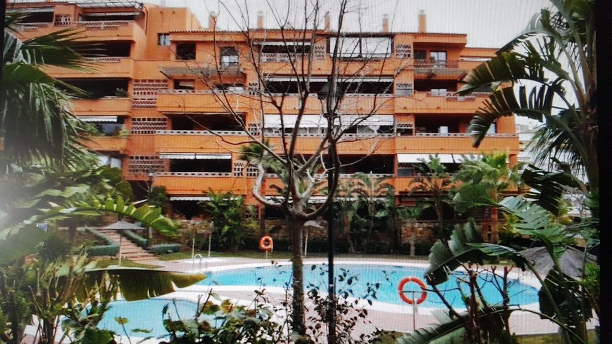 Nagueles, walking to the beach, 2 min. walk from the hotel Guadalpin. Second floor apartment with vi,Spain