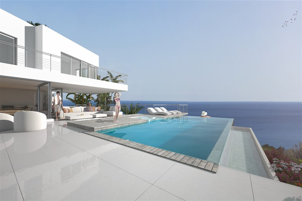 Villa on a one of a kind plot in Cabopino, Marbella with golf and seaviews. This is a villa with all, Spain