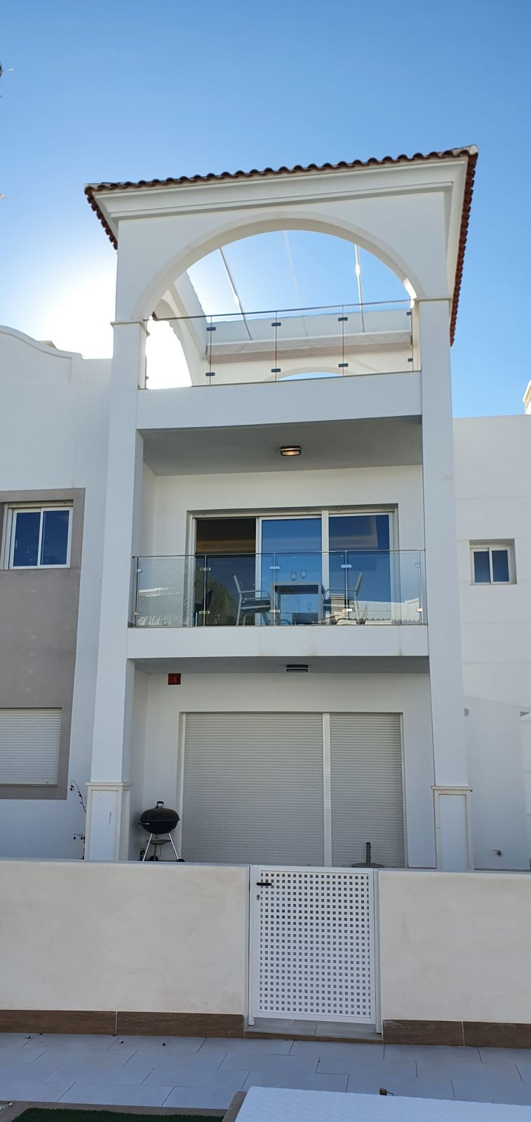 a beautiful duplex apartment with a very nice roof terrace. This is located in beautiful Torrevieja.,Spain