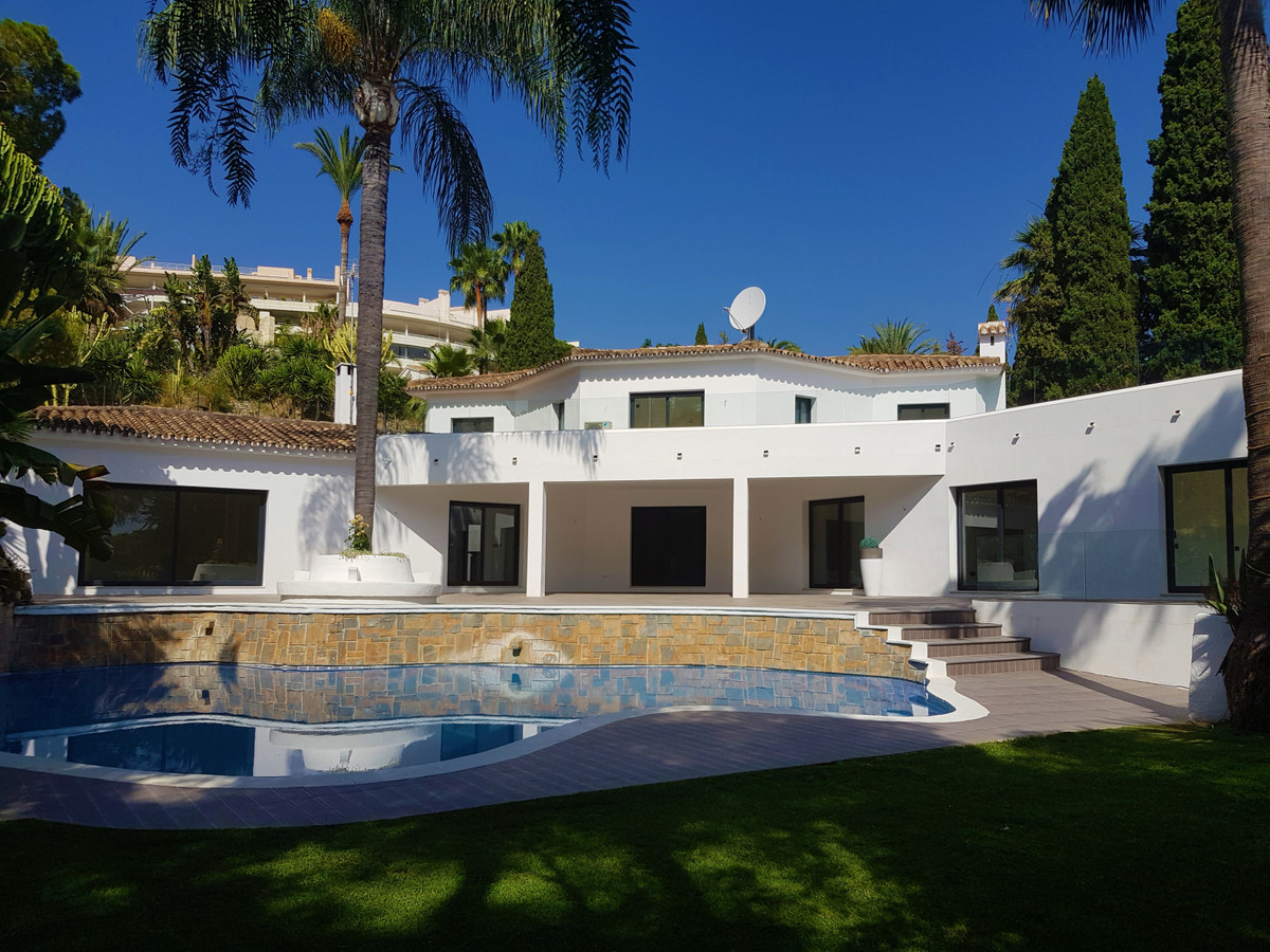 Amazing contemporary style villa, situated in Las Brisas, one of the most established areas next to ,Spain