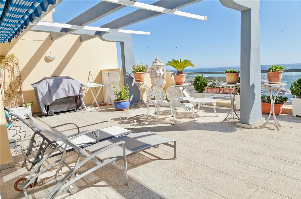 This stunning penthouse has direct sea views and is located in one of the most sought after, immacul, Spain