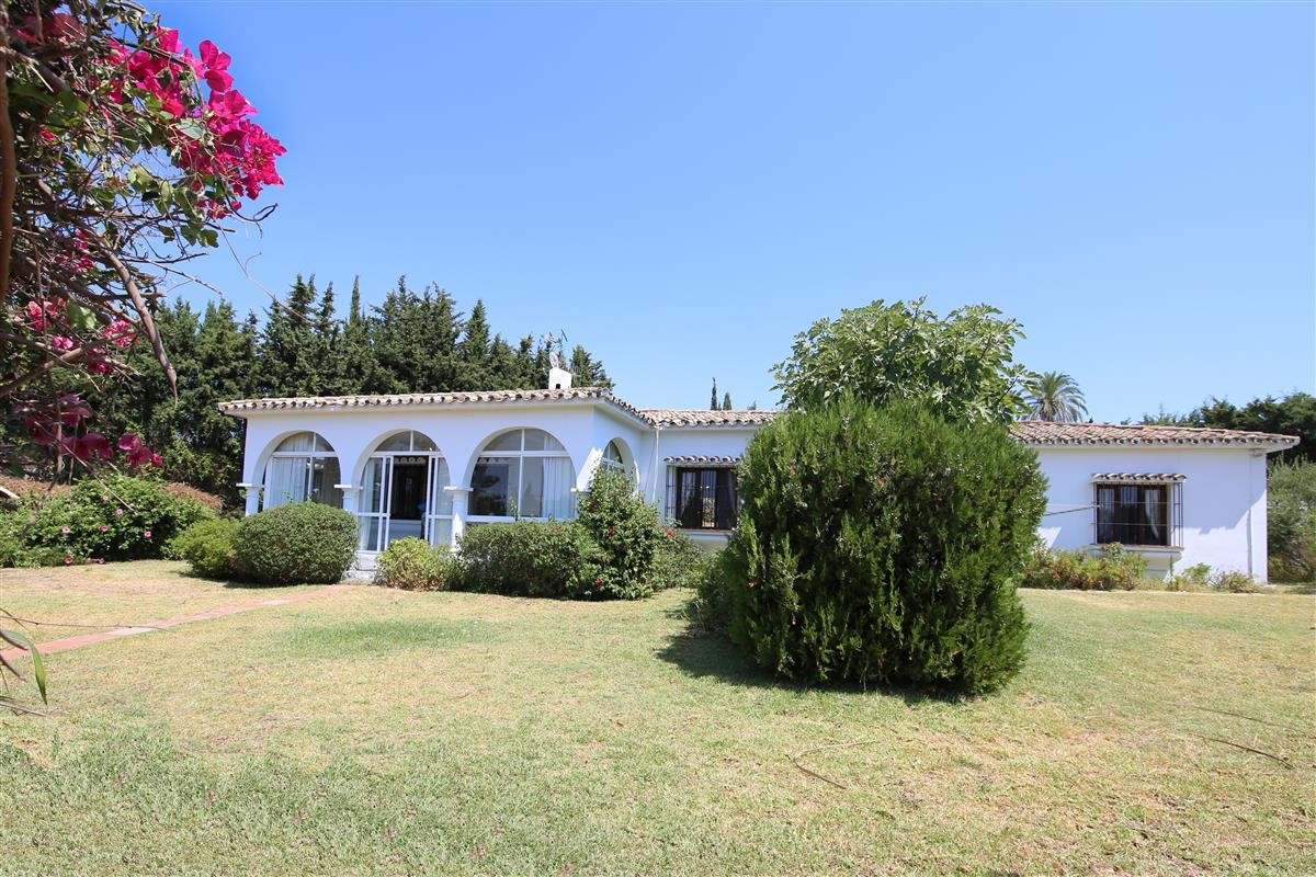This villa is located in the most sought after area of Estepona - Los Llanos or Cortijo Reinoso. It , Spain