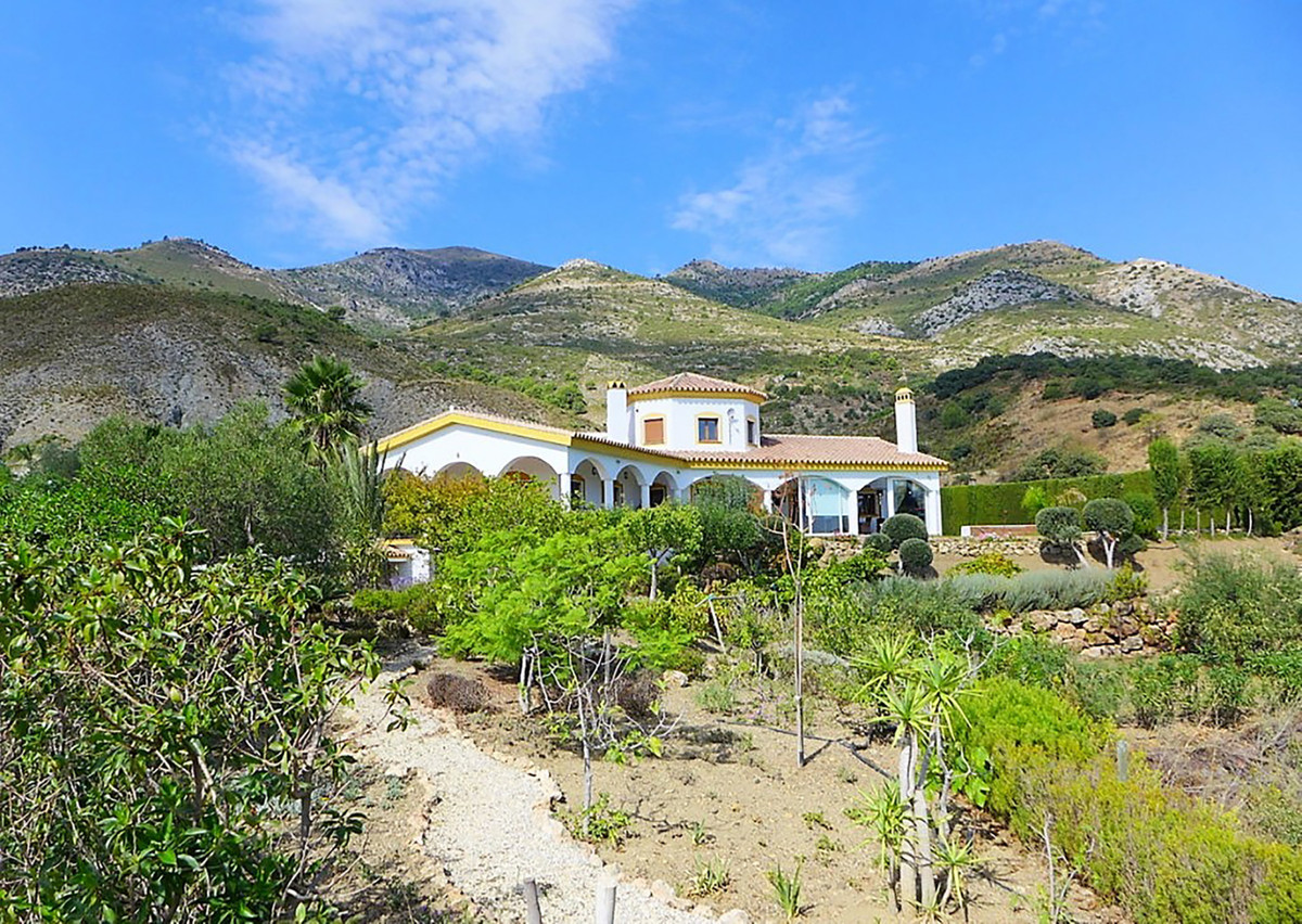GREAT OPPORTUNITY! Fine country residence set on 18.700 sqm land with olive & fruit trees in an , Spain