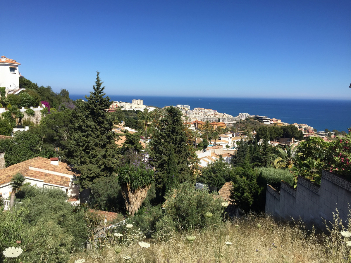 Plot wit open Panoramic Sea Views! Can build two floors from the street level, so in total by the to,Spain