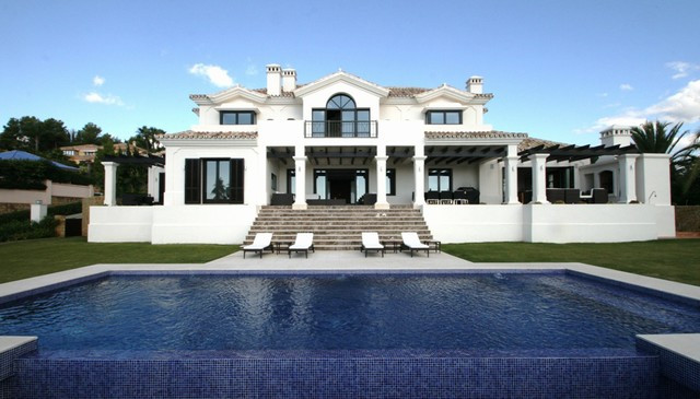 Magnificent recently constructed contemporary villa designed by Miguel Tobal in La Cerquilla, one of,Spain