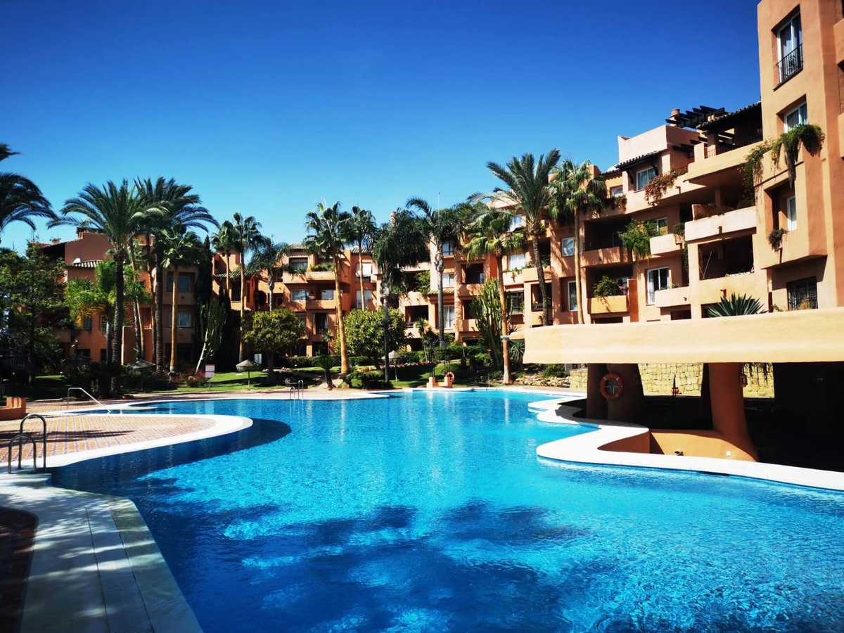 Beautiful TOTALLY RENOVATED 2 bedroom Penthouse in Oasis de Marbella, on the Golden Mile.  The prope,Spain