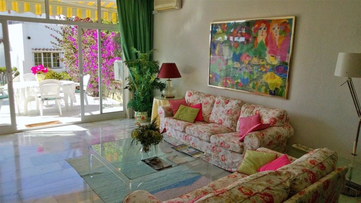 Attractive two bedroom townhouse for sale in first line of Aloha golf, Nueva Andalucia. Situated in ,Spain