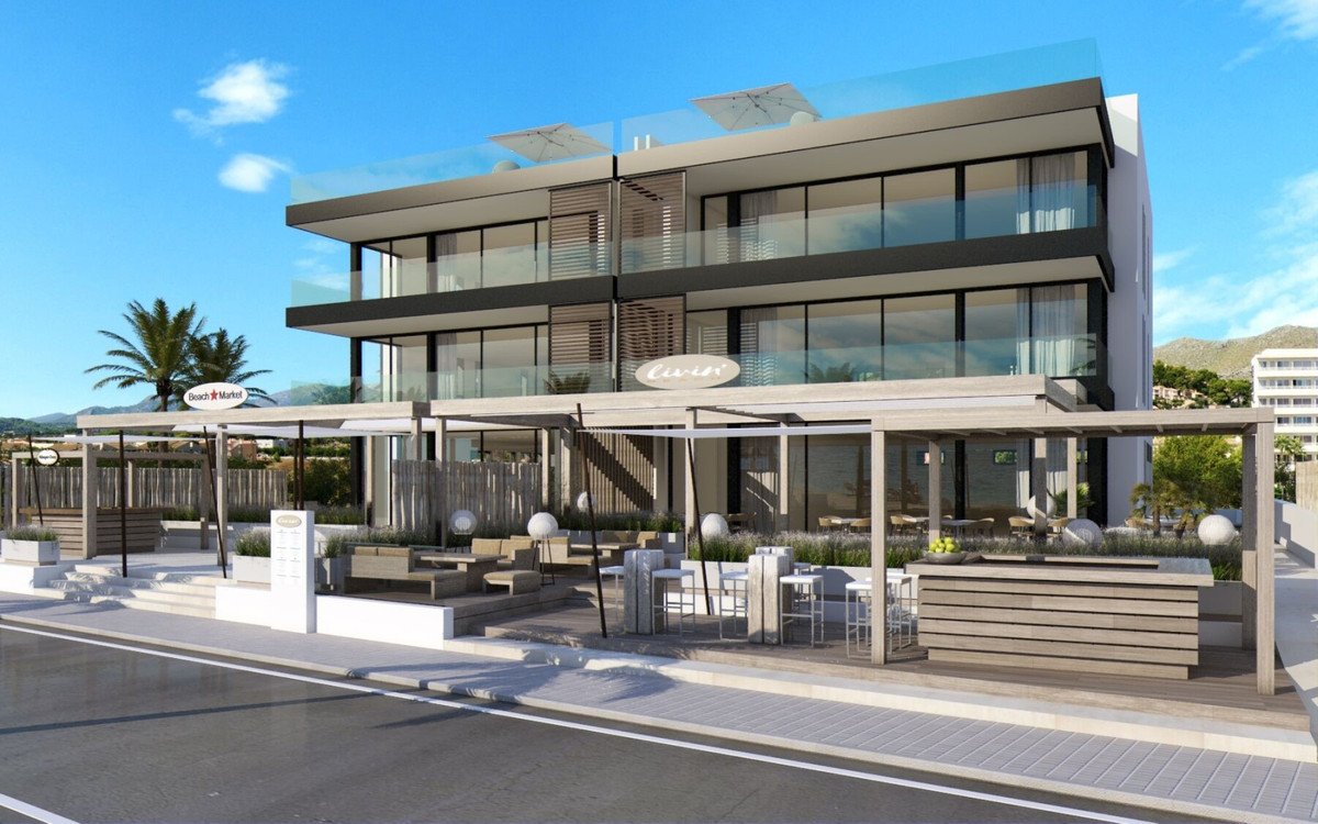 First floor apartment, Port de Pollenca, Mallorca. Only two apartments available for purchase off pl,Spain