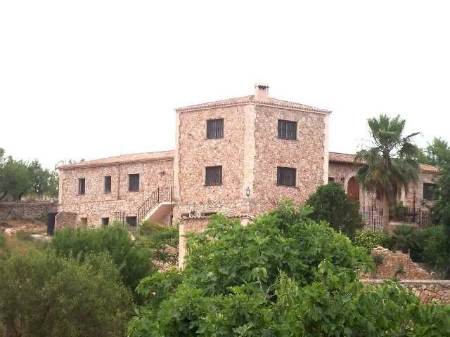 Fabulous rustic plot of 17.000 m2  with a house of approximately 700 m2, located in a very quiet and, Spain