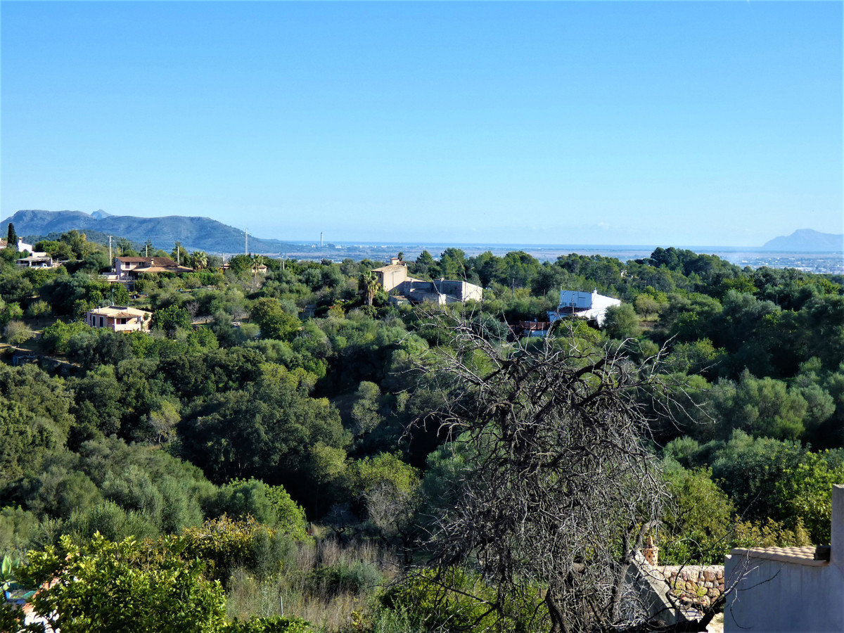 Refurb project! Town house in Campanet with views to the bay of Alcudia. Needs total refurb. and pla,Spain
