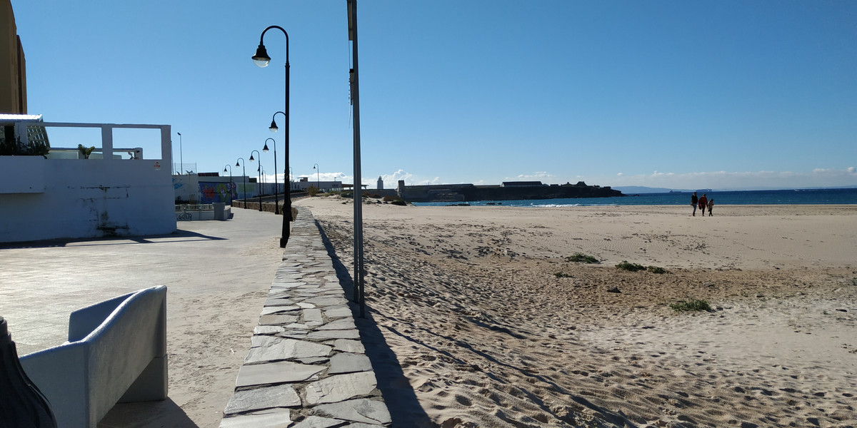This wonderful property is located in front of the beach of the hauls, one of the best beaches in Sp,Spain