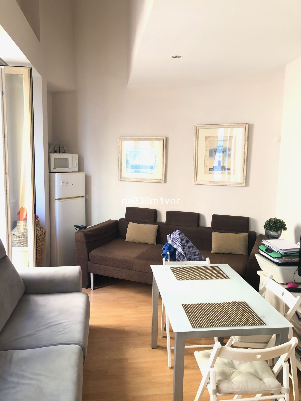 Apartment-study in the heart of downtown Malaga in renovated building, with floating platform, two b,Spain