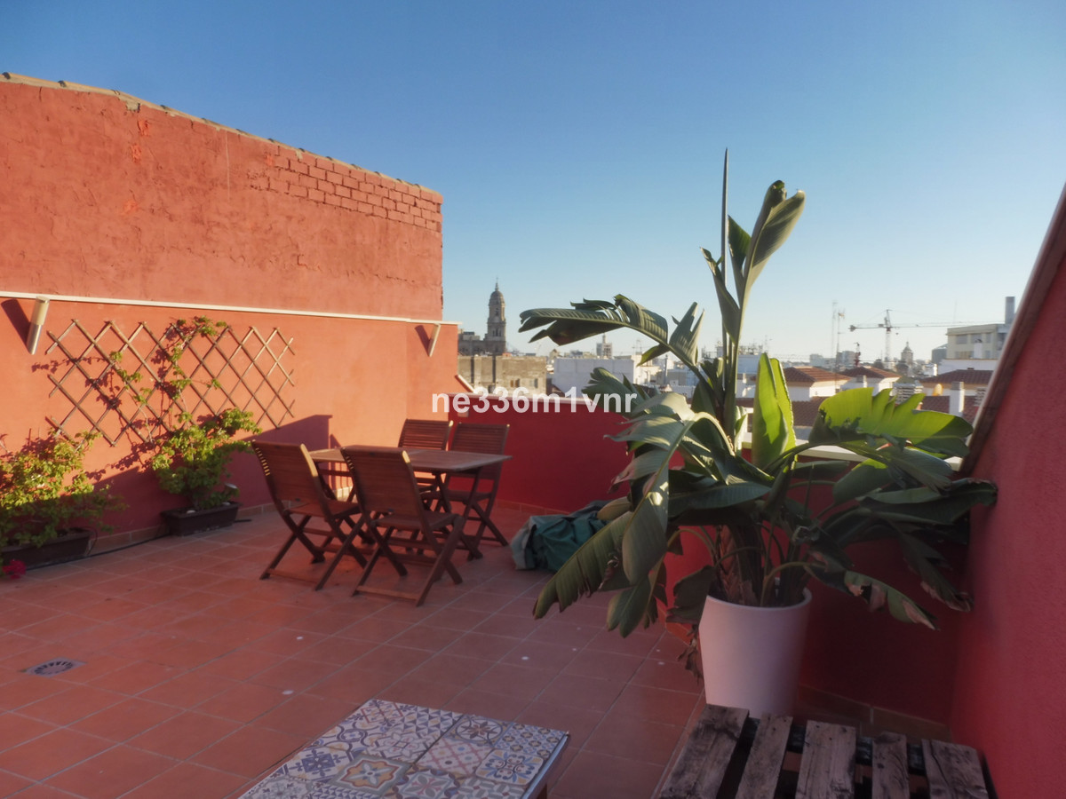 LUXURIOUS PENTHOUSE WITH TWO TERRACES IN THE HISTORICAL CENTER OF MALAGA !!  Fantastic PENTHOUSE in , Spain