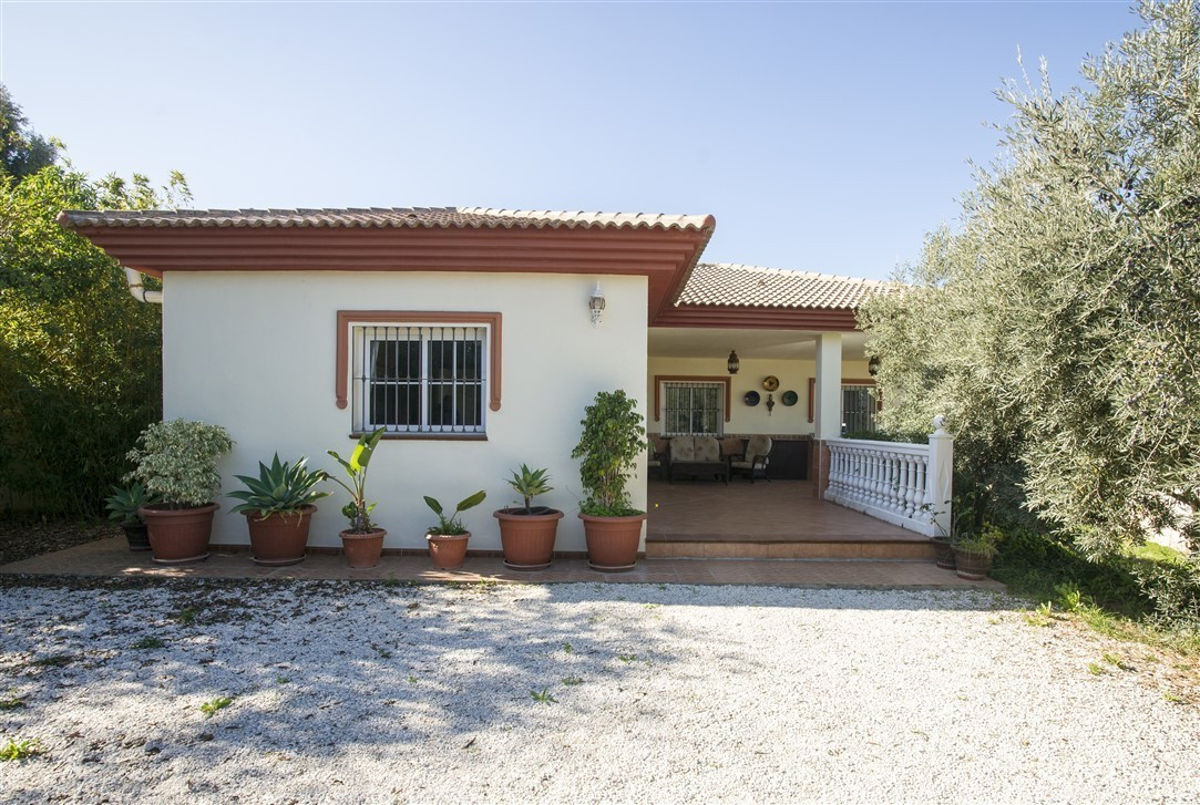 Far reaching panoramic views can be enjoyed from the cozy terrace of this good sized family home. Th, Spain
