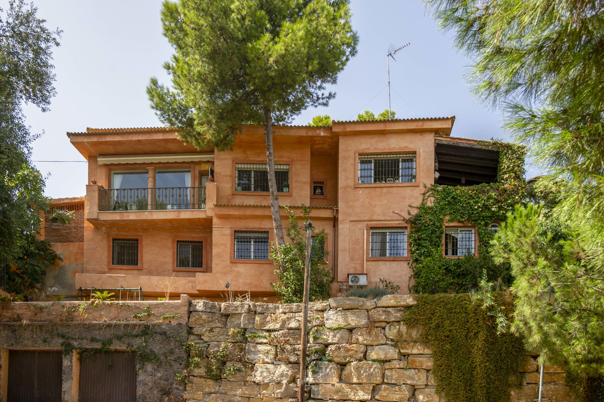 Oozing charm and quality this majestic family home stands supreme overlooking the sparkling Mediterr,Spain