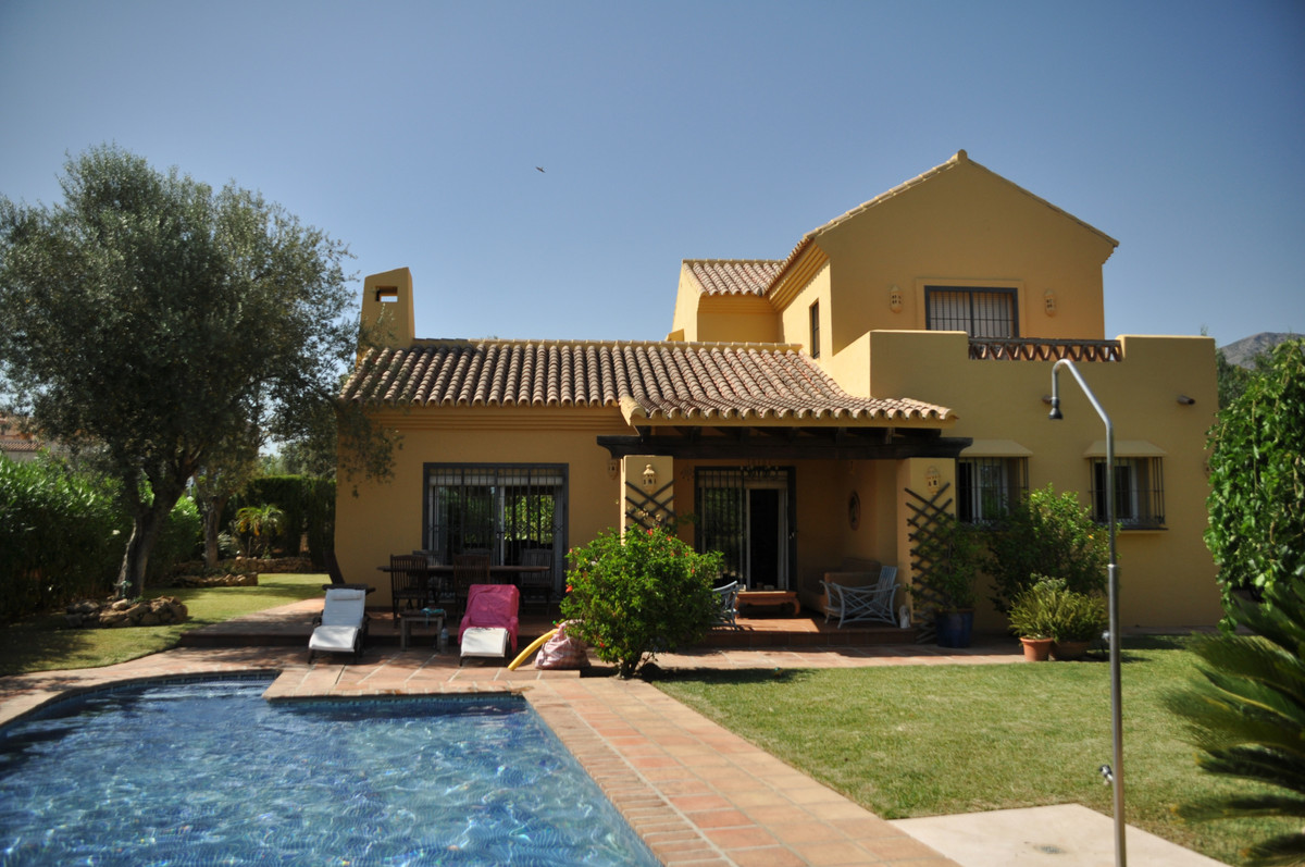 A very charming and private family villa on Mijas Golf urbanisation in a quiet road, yet a short wal,Spain