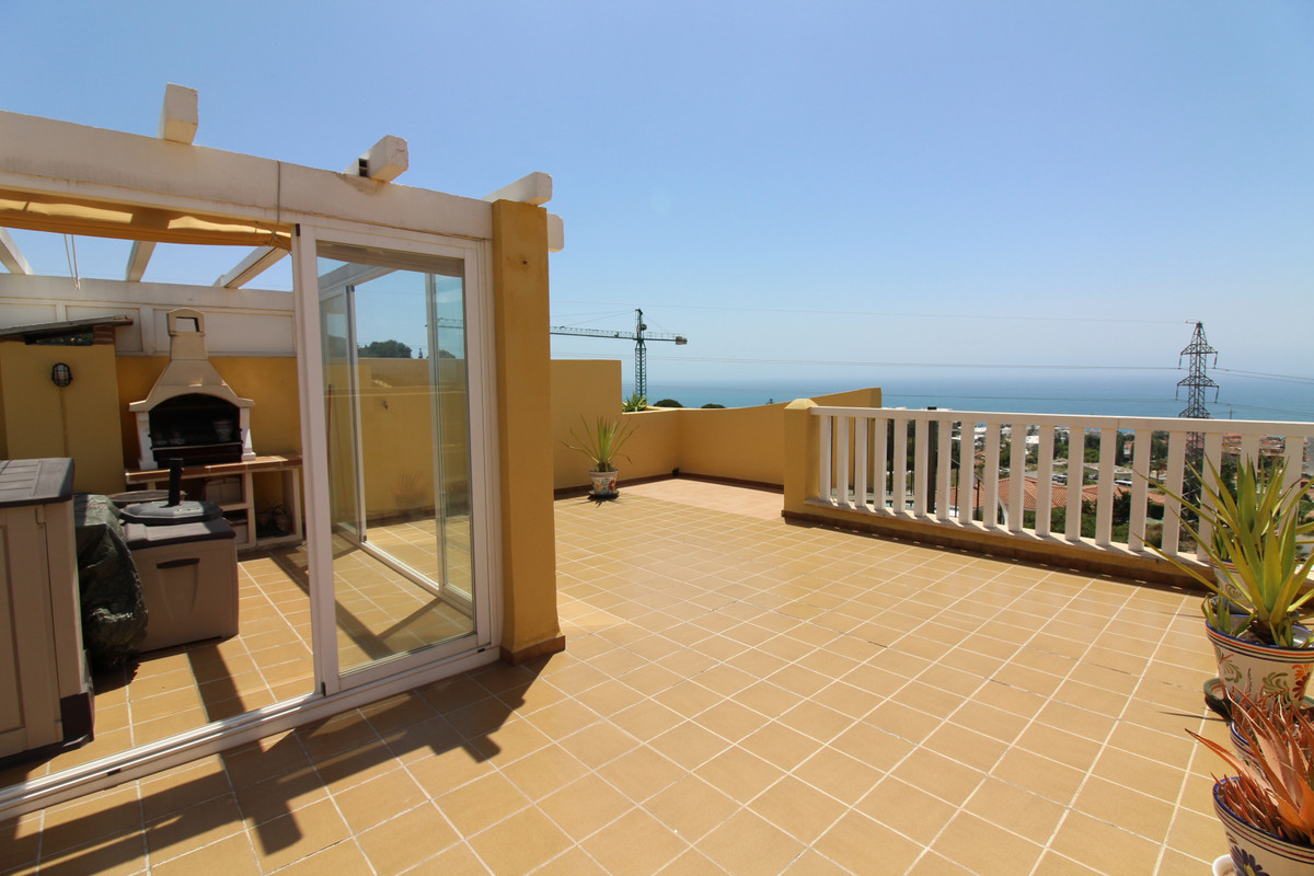 Lovely penthouse with splendid views, located in nice residential area, near shops, restaurant  etc., Spain