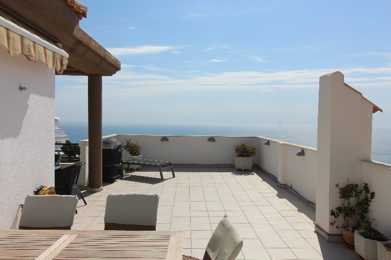 Unique penthouse located in Benalmadena with an unparalleled view over the countryside and to the Me,Spain