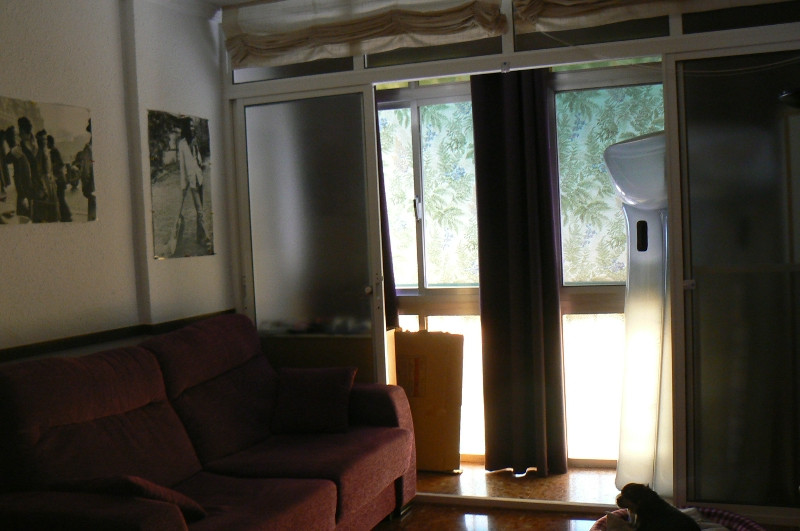 Fuengirola - in the center of the city. The apartment has three bedrooms and a dining room, kitchen , Spain