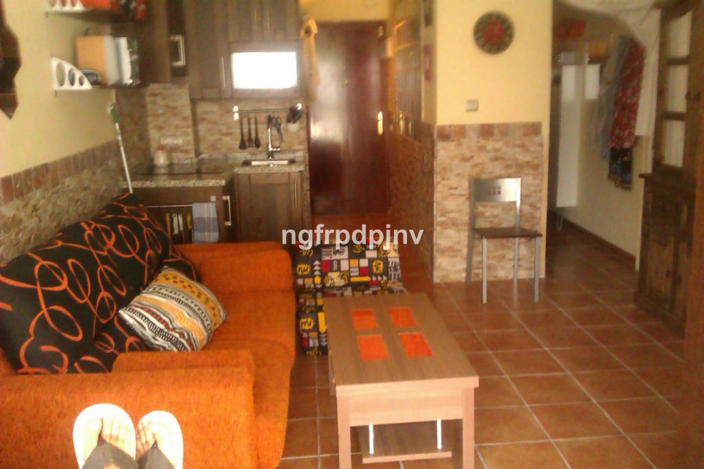 Middle Floor Studio, Benalmadena Costa, Costa del Sol. Built 36 m², Terrace 3 m².  Setting : Town, C, Spain