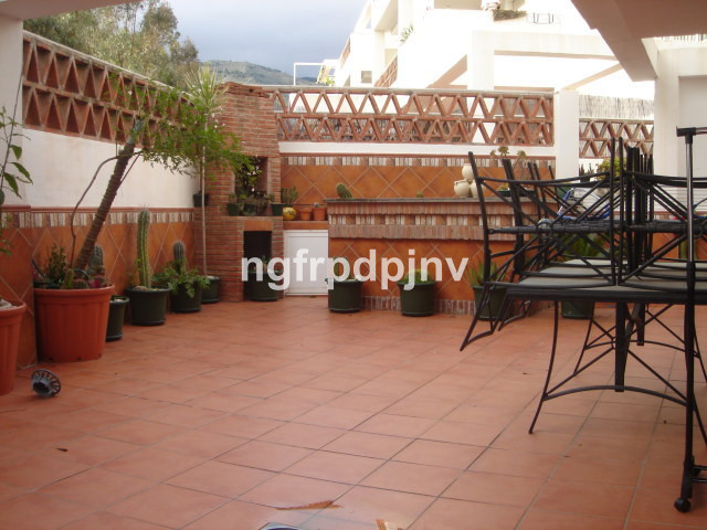 Ground floor apartment with a terrace of 80 sqm, with two bedrooms (15 sqm and 28 sqm), 2 bathrooms, separate kitchen and living room of 35 sqm. Central a / c . It has two spacious parking (15 m2 and 19 m2) and two storage rooms (10 sqm and 14 sqm). Gated community with green areas and swimming pool. Very close to the beach, Xanit hospital, schools, institutes and supermarkets. It's a very quite area.    Ground Floor Apartment, 2 Bedrooms, 2 Bathrooms, Built 122 m², Terrace 80 m².  Setting : Close To Sea, Close To Town, Close To Schools, Urbanisation. Orientation : East. Condition : Good. Pool : Communal. Climate Control : Air Conditioning. Features : Fitted Wardrobes, Near Transport, Private Terrace, Storage Room, Ensuite Bathroom, Barbeque. Furniture : Fully Furnished. Kitchen : Fully Fitted. Garden : Communal. Security : Gated Complex. Parking : More Than One.