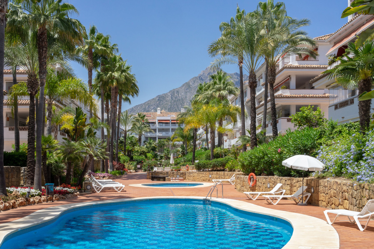 Las Canas Beach, an exclusive oceanfront setting with the natural elegance of Marbella in one of the,Spain
