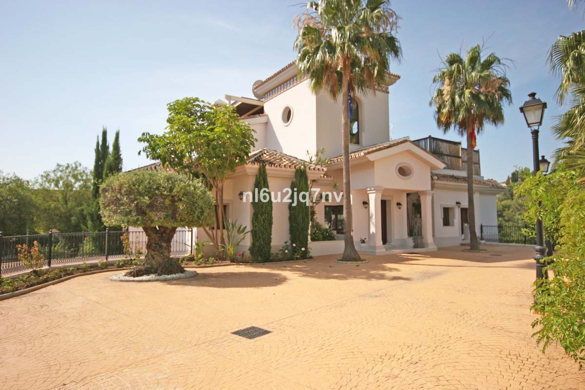 This luxury family villa is situated in an exclusive gated community of villas with 24h security and, Spain