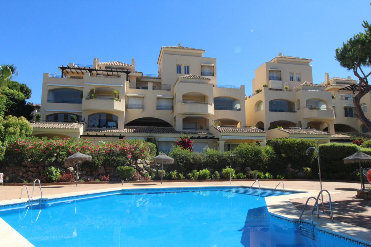 First floor 2 bedroom apartment in Hacienda Elviria. This apartment is immaculate and has a large li,Spain