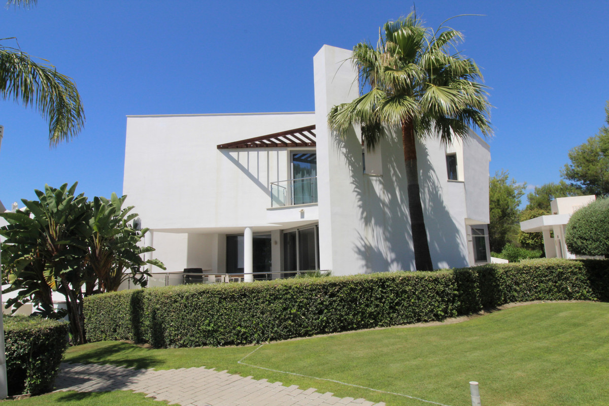 Contemporary semi detached villa in the most prestigious area of Marbella with spectacular views tow, Spain