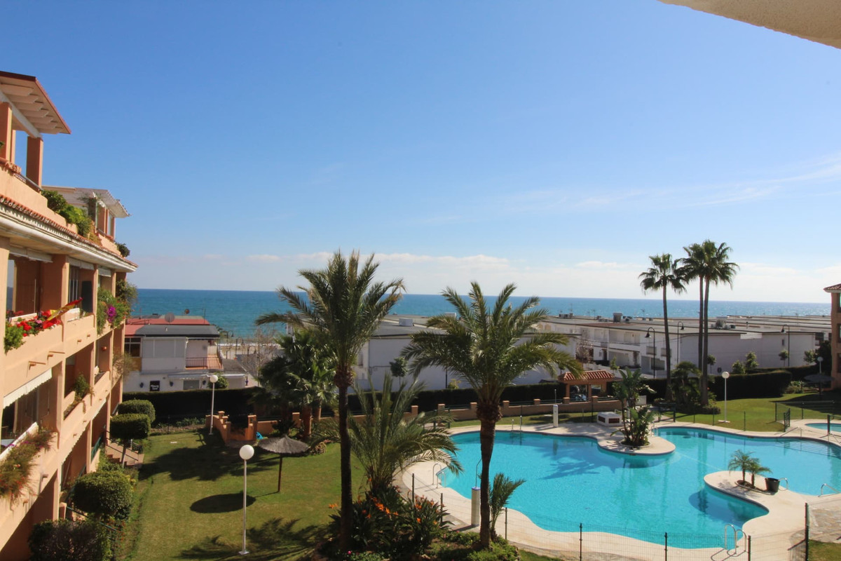 Beachside apartment in La Cala with sea view!    Location location location, apartment with its own , Spain