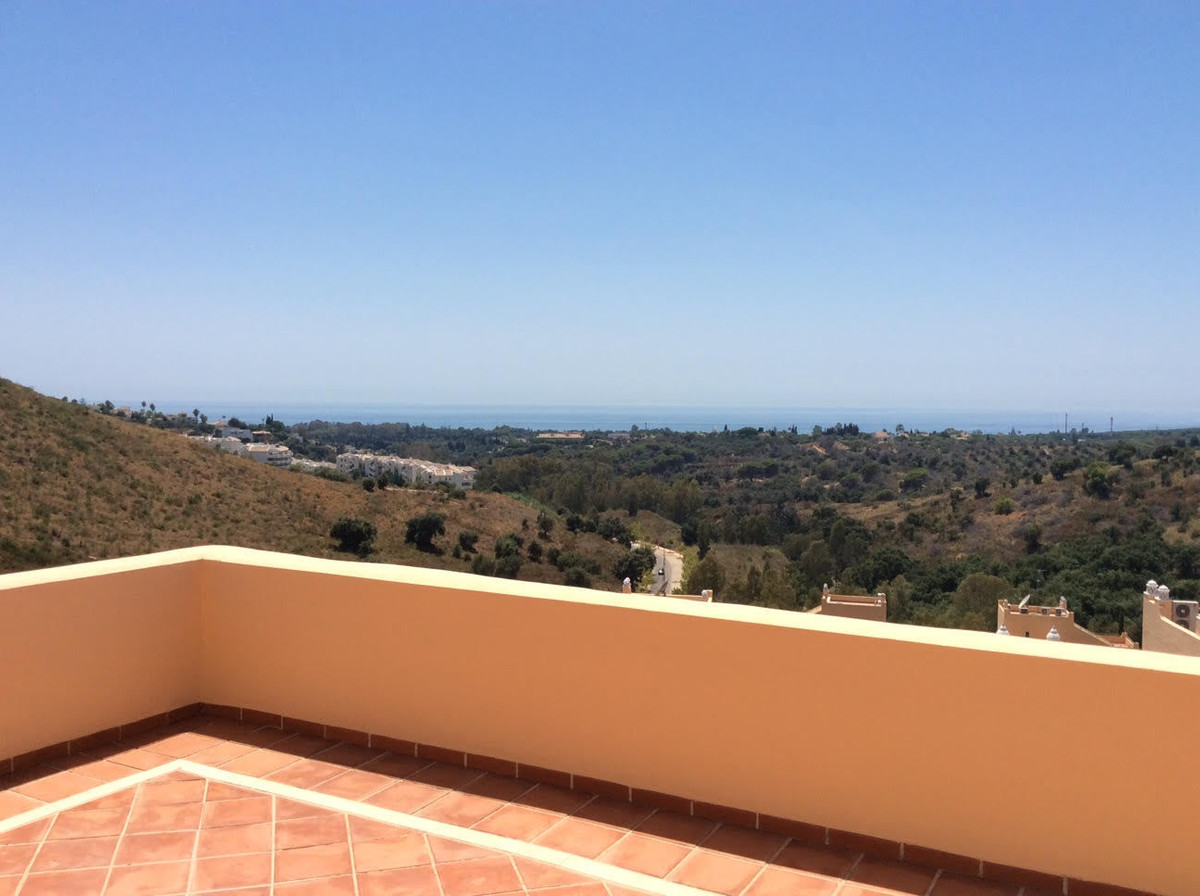 Duplex penthouse in a prime position within the gated complex of Santa Maria Village.  With uninterr, Spain