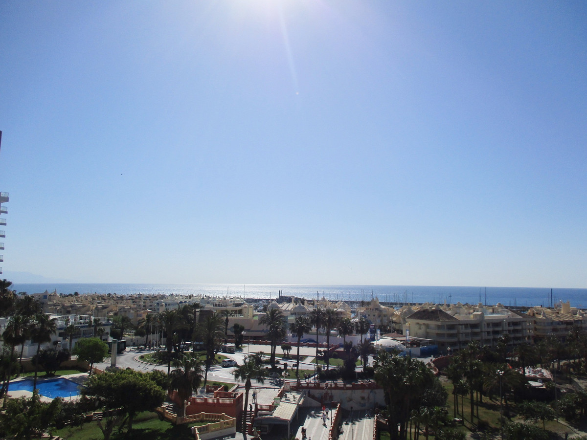 First line beach apartment with fantastic views of Puerto Marina. It consists of hall, a bedroom wit, Spain
