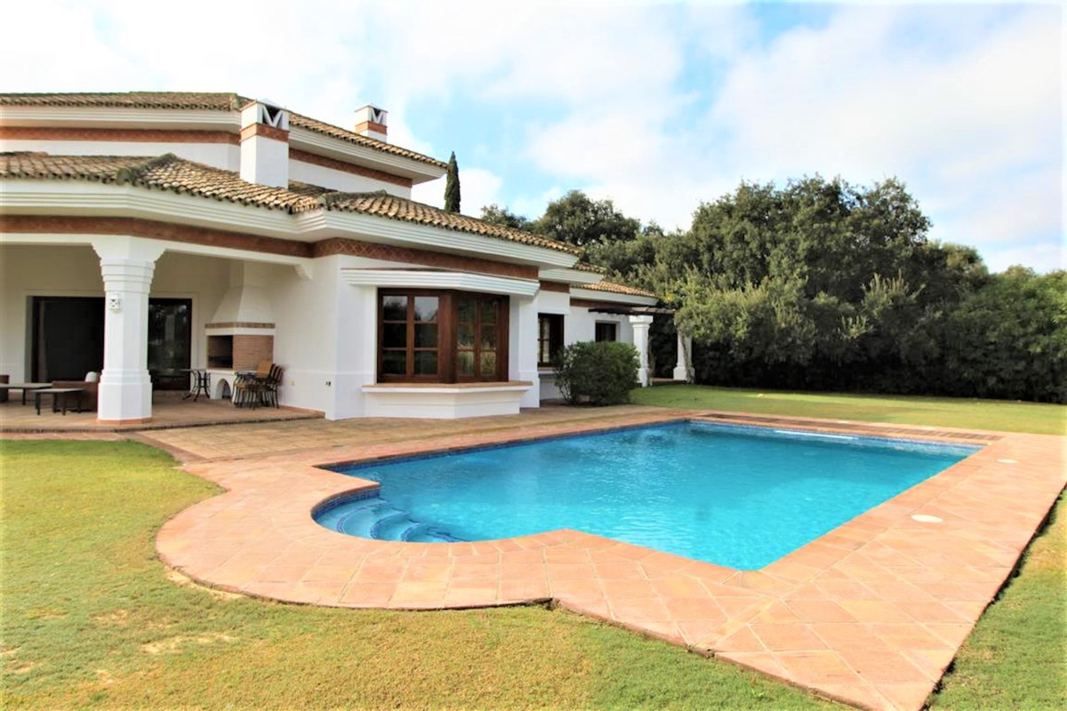 High quality fully-furnished villa with stunning golf views in the prestigious San Roque Club, with ,Spain