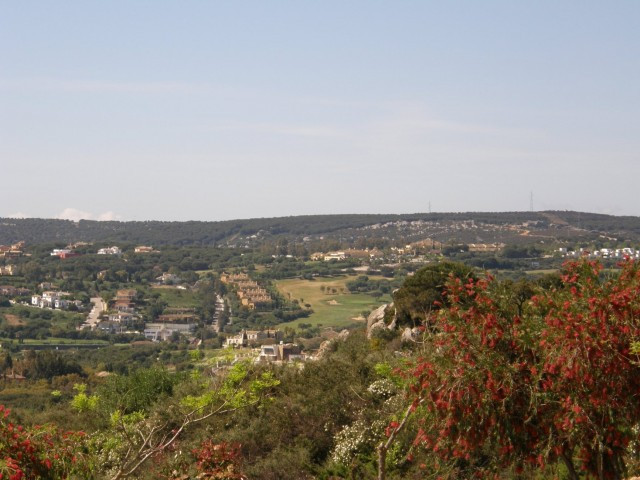La Reserva Golf:  Building plot for one large villa. Views to sea, golf and mountains, set within th,Spain
