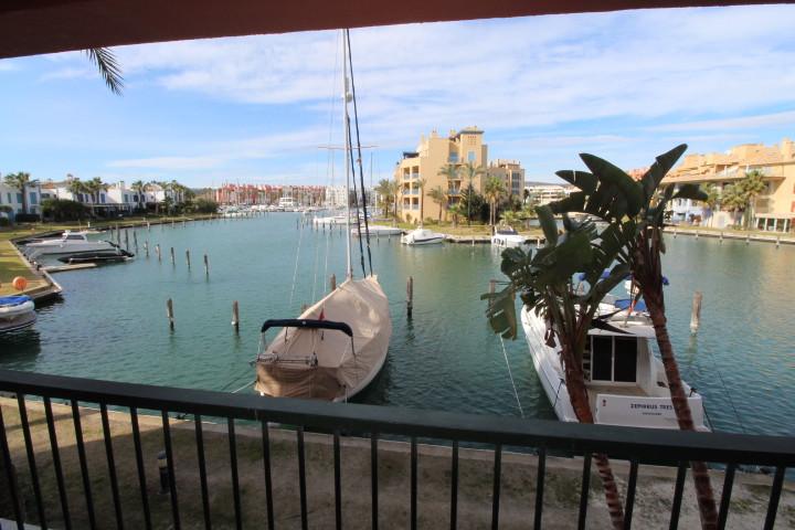 Sotogrande Marina: Ribera del Delfin, 2 bedroom 2 bathroom garden apartment with wonderful views to ,Spain
