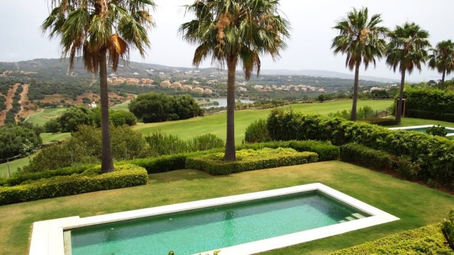 Las Cimas de Sotogrande available for sale contemporary villa Modern cube style home with grand view, Spain